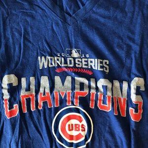 Tops - Cubs World Series shirt